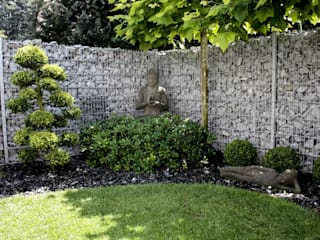 Asianstyle design garden Asian style garden by -GardScape- private gardens by Christoph Harreiß Asian