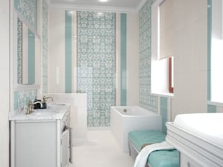 Eclectic style bathroom by Bronx Eclectic
