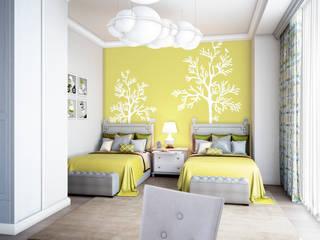 Дом Millennium-park, 420 м²: Детские комнаты в . Автор – Bronx