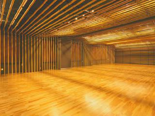 Projekty,  Pokój multimedialny zaprojektowane przez 一級建築士事務所たかせao