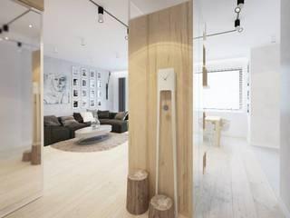 COI Pracownia Architektury Wnętrz Koridor & Tangga Modern