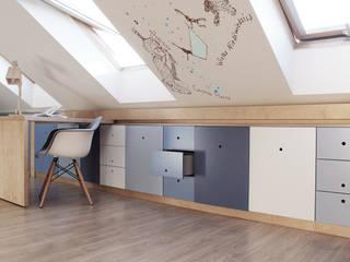 COI Pracownia Architektury Wnętrz Kamar Bayi/Anak Modern