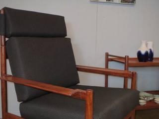 Deense jaren 60 fauteuil/trolley Cees Braakman:   door Werkplaats69