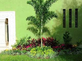 CASA AA-14 Jardines modernos de EcoEntorno Paisajismo Urbano Moderno