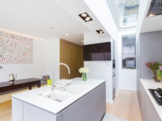 Property Renovation and Extension, Clapham SW11 Modern kitchen by TOTUS Modern