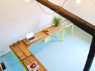 El Cerezo en Flúor, sistema de mesas de Submarina Rural