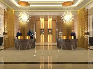 Visuales de Hoteles Hoteles de estilo moderno de Andres Ramallo Moderno