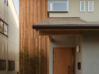 Single family home by イン・エクスデザイン / in-ex design.Co.,Ltd.,
