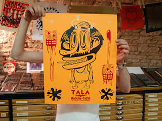 TALA Mouche-Tache !:  de style  par Affiche Moilkan