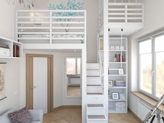 Nursery/kid's room by цуккини, Modern