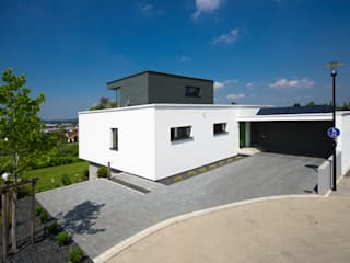 Neubau Wohnhaus S: moderne Häuser von Knychalla + Team, Architekten, Stadtplaner GmbH