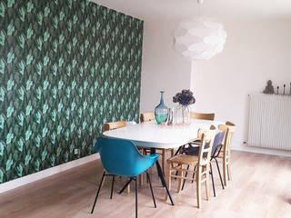 Intérieur : Salle à manger de style de style eclectique par LE PRESSE PAPIER / PAPIER PEINT