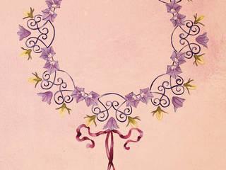 Ghirlanda floreale:  in stile  di Elena Milani Arti visive e Design