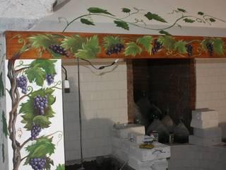 Vite per Sala Degustazioni di Alfonso De Negri Rustico