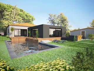 Maisons modernes par shfa Moderne