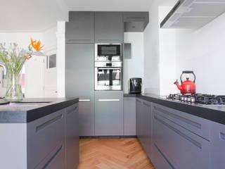 Maisonnette Apollobuurt Amsterdam Moderne keukens van Hoope Plevier Architecten Modern