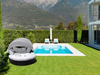 Arredo Giardino Rattan: Online su Luxurygarden.it di LuxuryGarden.it Moderno