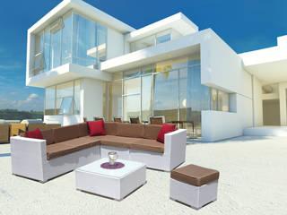 Set salotto angolare da giardino Kartik di LuxuryGarden.it Moderno