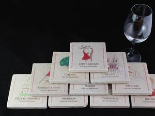 Crus du Beaujolais:  de style  par Lézard de la table by mrs frog design