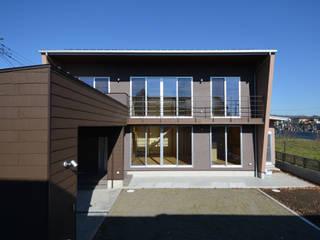 鶴生田の家 モダンな 家 の POTOS DESIGN OFFICE モダン