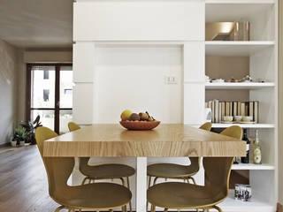 Casa in bifamiliare Cucina moderna di Luca Mancini | Architetto Moderno