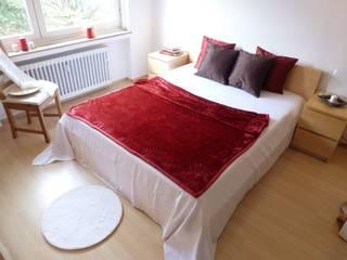 3-ZKB Wohnung in Bonn: moderne Schlafzimmer von Personal Home Staging