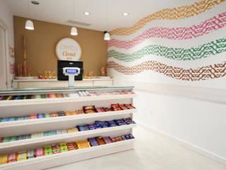 Candy Cloud Córdoba - mostrador: Oficinas y Tiendas de estilo  de Martyseguido diseño interiorismo
