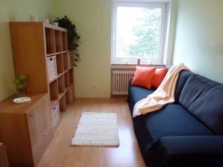 3-ZKB Wohnung in Bonn: moderne Arbeitszimmer von Personal Home Staging