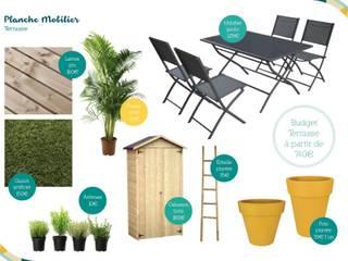 Patios & Decks by Angèle Ethuin - Designer d'intérieur & Coloriste