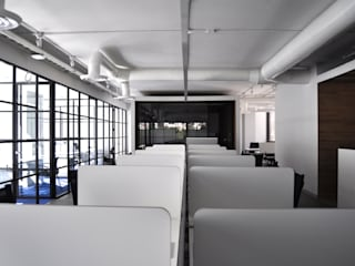 DF ARQUITECTOS Modern offices & stores
