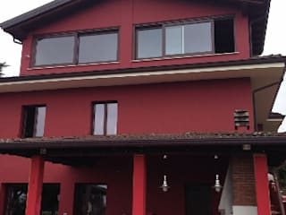 Villa monofamiliare: Case in stile in stile Moderno di Annalisa Tinelli Architetto