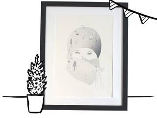 affiche hivernale:  de style  par Maudit Bic