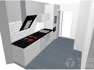 Modern kitchen by Traber Obras Modern