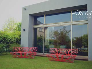 Banco 3 :  de estilo  por Postigo design,Moderno