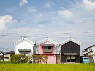 Country style house by 平野建築設計室 Country