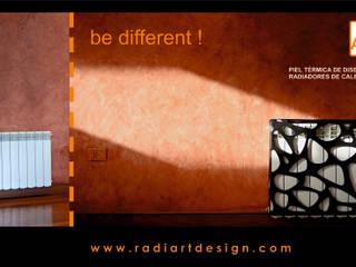 radiART - Pieles térmicas para radiadores de calefacción.:  de estilo  por Postigo design,Moderno