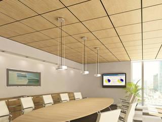Ceilings Moderne kantoor- & winkelruimten van Armstrong Plafonds Modern