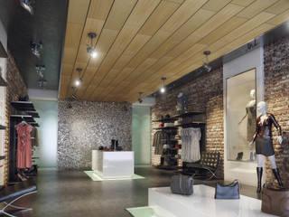 Ceilings:  Winkelruimten door Armstrong Plafonds