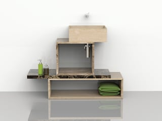 TETRIS | Entity Bathroom Collection:  in stile  di Marmi Serafini