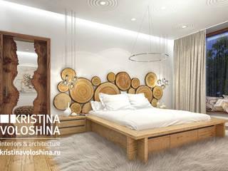 Dormitorios rústicos de kristinavoloshina Rústico