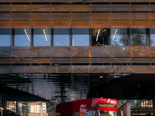 IVB Betriebsgebäude Innsbruck:  Bürogebäude von peterlorenzateliers