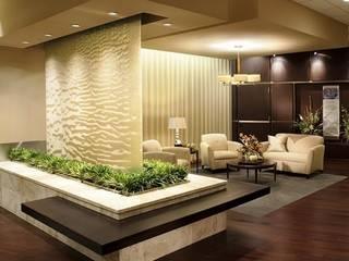 Salones de estilo moderno de Sonic Waterfalls Moderno