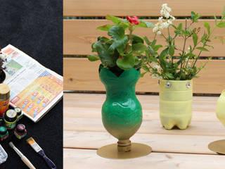 Upcycling: Blumetöpfe aus PET-Flaschen :   von mydays