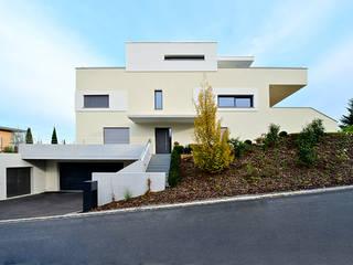 Bodensee-Dampfer Moderne Häuser von e s a Modern