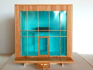 Straw Box und Crystal Box Skandinavische Häuser von Architektur und Geomantie Skandinavisch