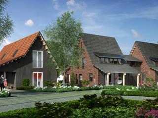 Villa's Zuidhoek Nieuwkoop:   door KAW architecten