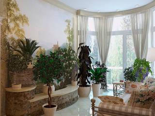 Студия интерьера 'SENSE' Jardines de invierno de estilo clásico