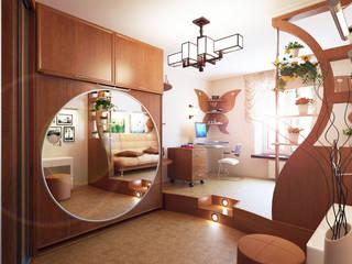 Chambre d'enfant de style  par Студия интерьера 'SENSE', Éclectique