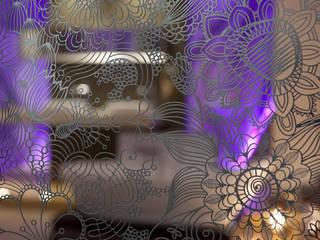 Panneaux en inox ciselé:  de style  par ARREDAMENTI