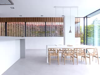 Russwood Timber Cladding:  Dining room by Russwood - Flooring - Cladding - Decking